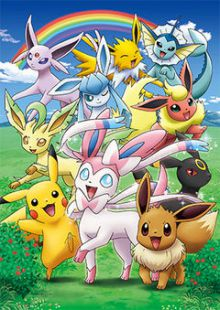 Pok mon voli et ses amis pisode sp cial anime kun - Famille evoli pokemon ...