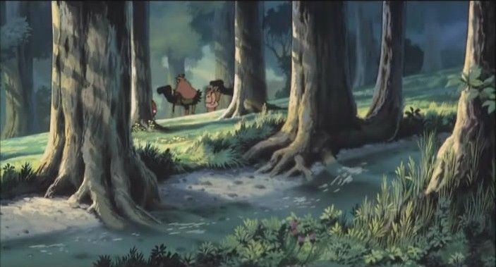 nausicaä de la vallée du vent movie 1984