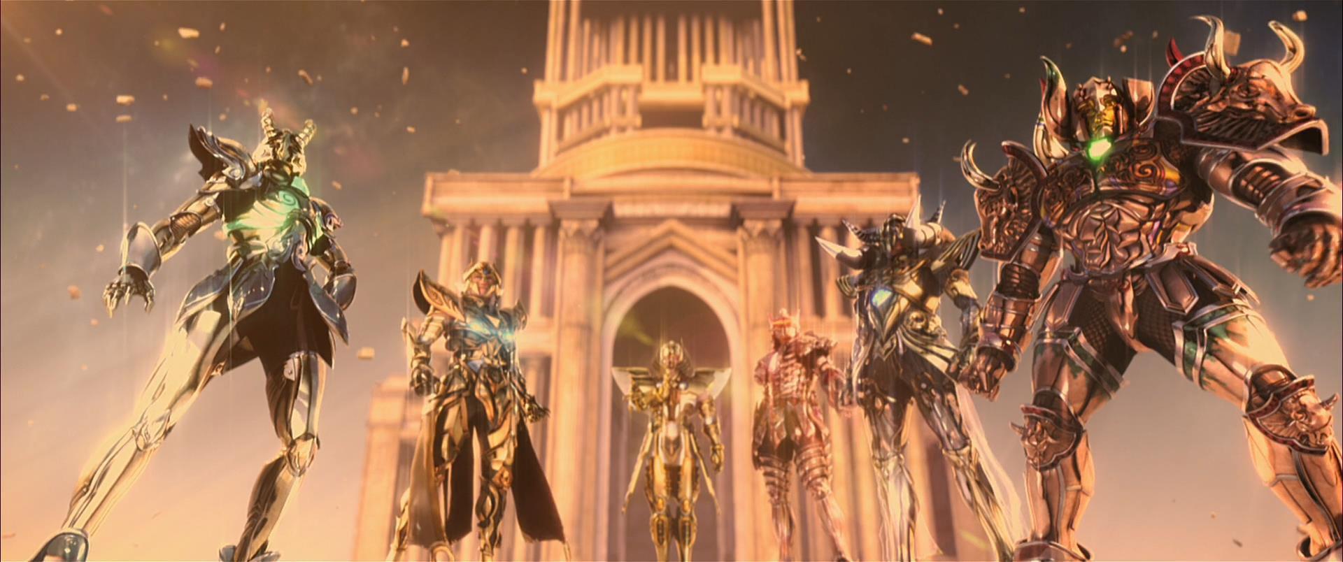 Les Chevaliers Du Zodiaque Film Anime Kun