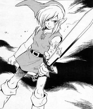 dessin manga zelda